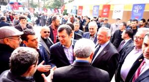 CHP'li Özel Sarıgöl'de Partililerle Buluştu