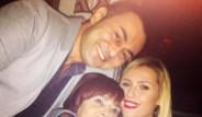 Nişanlısı Serdar Ortaç'a Doğum Günü Sürprizi Yaptı