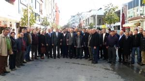 Başkanlar Çark Caddesi Esnafıyla Bir Araya Geldi