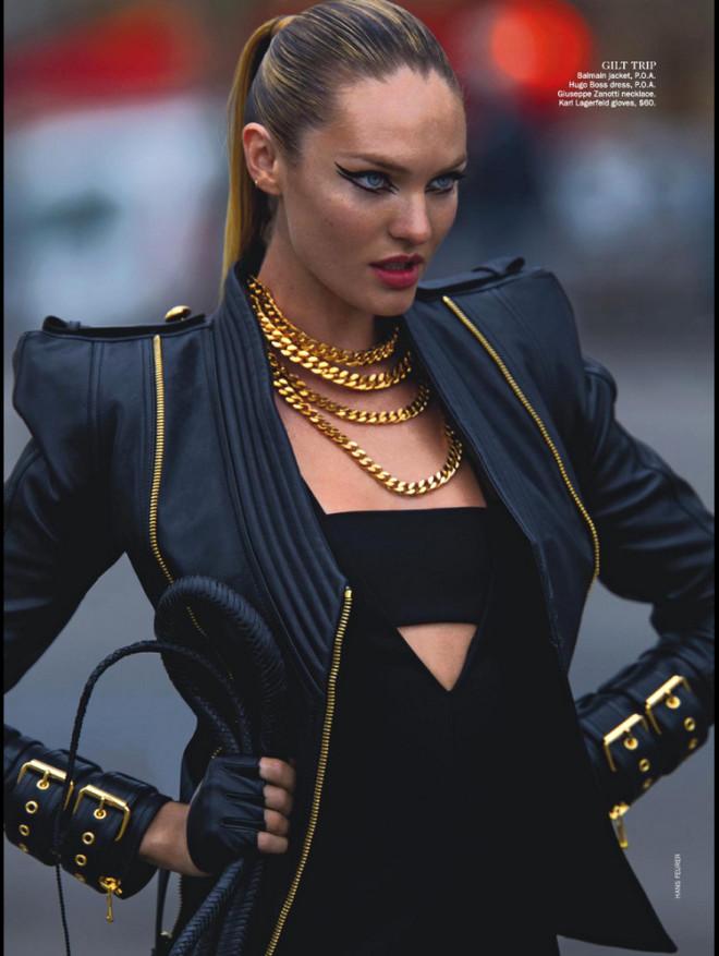 Candice Swanepoel İstanbul'a Geldi