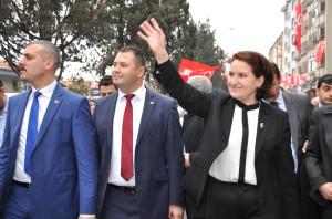 Meral Akşener Kırklareli'de Seçim Bürosu Açılışına Katıldı