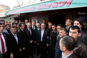 Elvan, Ünver'in Seçim Bürosunu Açtı