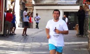 Milli Atlet Karabaş İçin Koştular