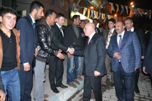 AK Parti Erzurum Büyükşehir Belediye Başkan Adayı Mehmet Sekmen Şenkaya'da