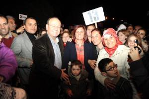 Geziye Katılanları Başkan Çerçioğlu Uğurladı