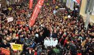 CHP'den İstiklal Caddesi'nde Protesto
