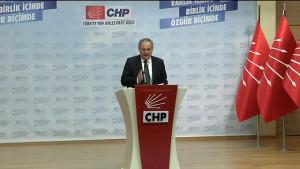 CHP Myk Toplantısı, Sona Erdi - Haluk Koç -