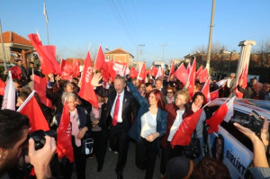 Didim'de Seçim Bürosu Açan Başkan Çerçioğlu'na Büyük İlgi