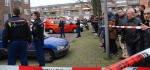Amsterdam'da Film Gibi Silahlı Soygun