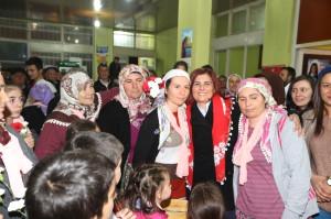 Başkan Çerçioğlu, Bozdoğan'da Kadınlarla Buluştu