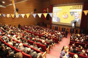 Başkan Toçoğlu, Serdivan'da Aday Tanıtım Toplantısına Katıldı