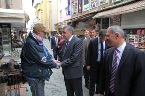 Başkan Toçoğlu'ndan İtfaiye Caddesi'ne Müjde