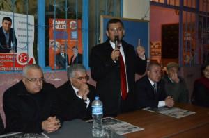 CHP'li Özgür Özel Arı Gibi Çalışıyor