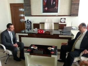 Milletvekili Yılmaz'dan Kaymakam ve Belediye Başkanına Ziyaret