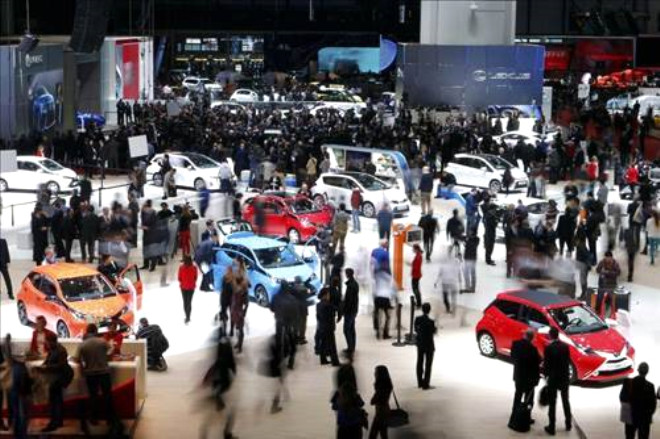 2014 Cenevre Otomobil Fuarı Başladı