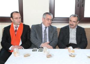 Ak Partili Remzi Aydın, Ömer Dinçer'i Ziyaret Etti