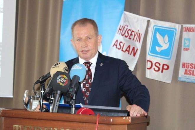 DSP Bayraklı Belediye Başkan Adayı Hüseyin Aslan Projelerini Tanıttı