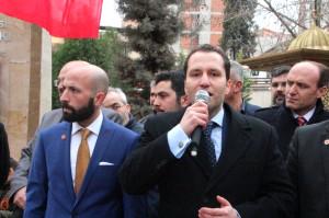 Sp Genel Başkan Başdanışmanı Erbakan Bilecik'te