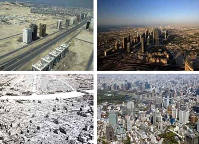 Dünya Şehirlerinin İnanılmaz Değişimi