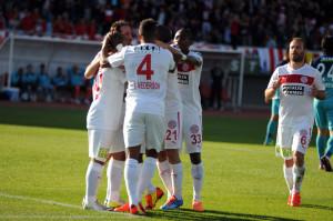 Medical Park Antalyaspor: 1 – Çaykur Rizespor: 0 (Ilk Yarı)