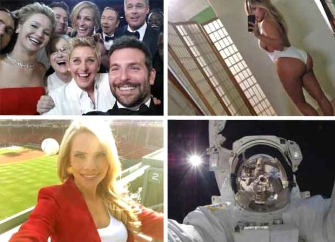 Gelmiş Geçmiş En Çarpıcı Selfieler