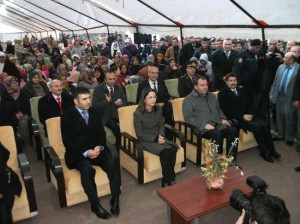 Bakan İslam Taraklı'da Vatandaşlara Seslendi