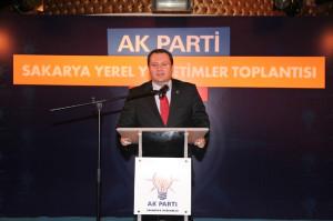 Başkan Toçoğlu, AK Parti Yerel Yönetimler Toplantısı'na Katıldı