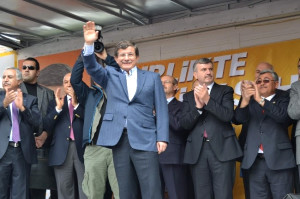 Bakan Davutoğlu Konya'da