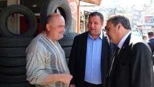 Çerçi'den Garaj Esnafına Ziyaret