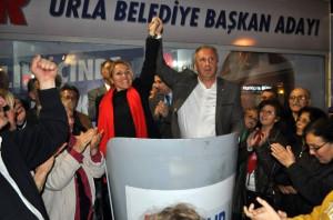 CHP Grup Başkanı İnce Urla'yı Ziyaret Etti