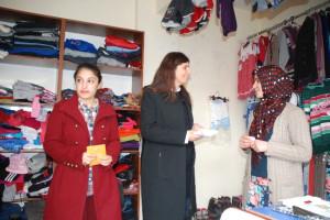 Milletvekili Mine Lök Beyaz'dan Kayhan'a Destek Ziyareti