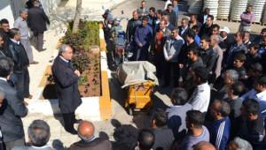 Başkan Fakıbaba, Personeli ile Vedalaşıyor