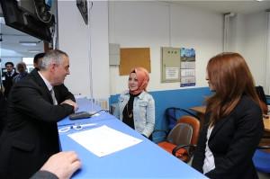 AK Parti Adayı Aydın'dan İSKİ Eyüp Şube Müdürlüğü'ne Ziyaret