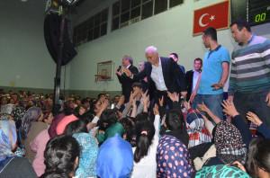 Kozan'da, Prof. Dr. Nihat Hatipoğlu İzdihamı