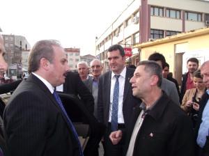 AK Parti Genel Başkan Yardımcısı Şentop Muratlı'da