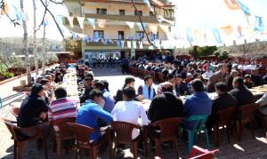 Milletvekilleri ve Fadıloğlu Mahalle Olan Köyleri Ziyaret Etti