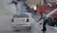 Şırnak'ta Kadın Polisin Bulunduğu Araca Molotof