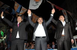 Ak Partili Çatma'ya Başkan Külcü'den Tam Destek