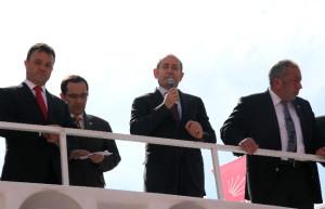 CHP Grup Başkanvekili Hamzaçebi Sungurlu'da