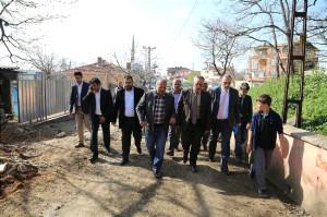 Ak Partili Aydın'dan Eyüp'ün Köylerine Ziyaret
