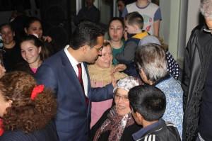 CHP'li Atila'ya Kavaklıdere'de Sevgi Seli