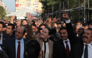 MHP'li Akşener, Elazığ'da Adaylarına Destek İstedi