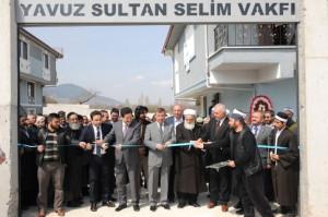Kütahya'da Yavuz Sultan Selim Vakfı'ndan Hanımlara Kültür Merkezi