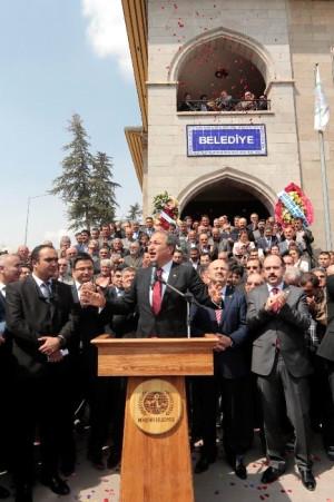 Nevşehir Belediye Başkanı Ünver Düzenlenen Törenle Mazbatasını Alarak Görevine Başladı