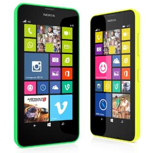 Nokia'dan 4 Çekirdekli Lumia 630 ve 635 Geliyor
