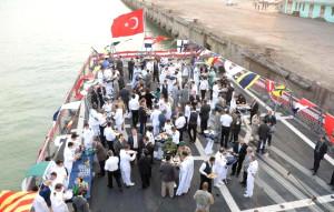 Türk Deniz Görev Grubu Moritanya'yı Ziyaret Etti