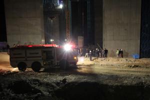 Genış Haber: Köprüü İnşaatında İskele Çöktü: 3 Ölü