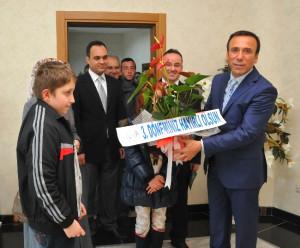 Başkan Genç'e Tebrik Ziyaretleri