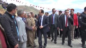 Irak Sınırındaki Üzümlü Sınır Kapısı Açıldı