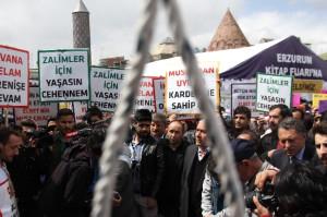 Mısır'daki 529 İdam Kararına Erzurum'dan Tepki